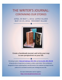 Writer's Journal Workshop flyer