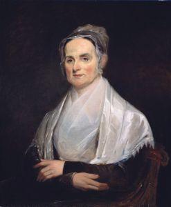 Lucretia Mott Painting by Joseph Kyle