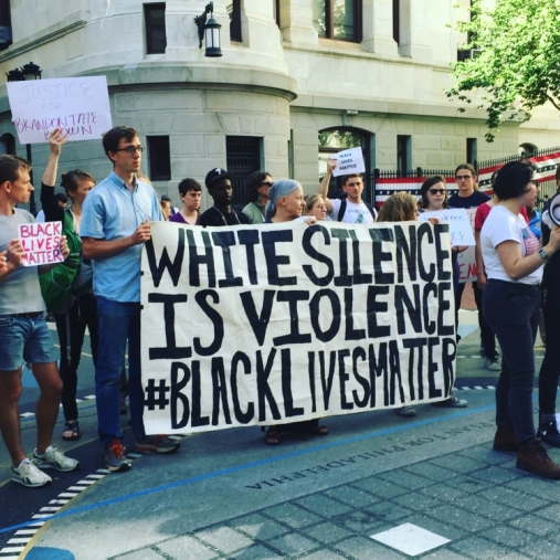 White silence is violence